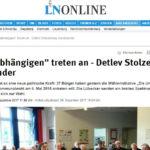 """""""Die Unabhängigen"""" treten an - Detlev Stolzenberg Vorsitzender"""